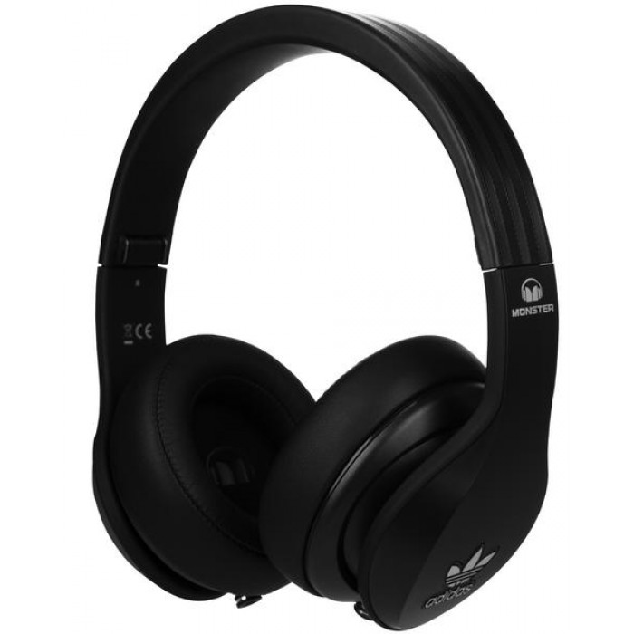 MONSTER ADIDAS Over-Ear - fejhallgató BLACK 93cdb87d33