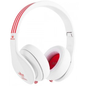 MONSTER ADIDAS Over-Ear - fejhallgató WHITE + RED a59bb2dc71